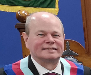 Duncan attends Swinton Chapter convocation