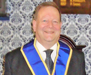 Carl is once again WM of Trinity Lodge