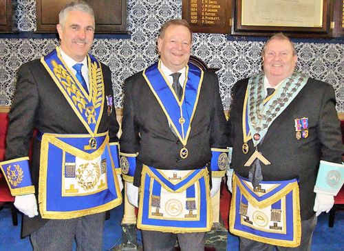 Pictured from left to right, are: Andrew Barton, Carl Kruger and Brian McNulty.