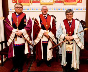 Doug Holgate installed in Friendship Chapter
