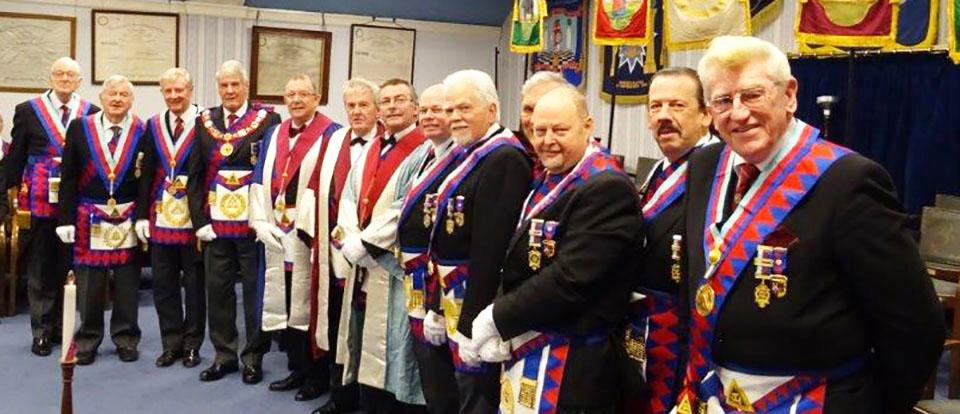 Pictured from left to right, are: Peter Greathead, Brian Parkin, Stuart Thornber, Paul Renton, Steve Willingham, Derek Broadbent, Gordon Major, Duncan Smith, David Randerson, Roger Perry, John Cross, Norman Thomas and Martyn Jones.