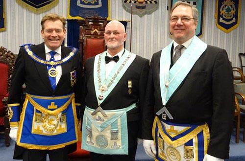 Wayfarers install John - West Lancashire Freemasons