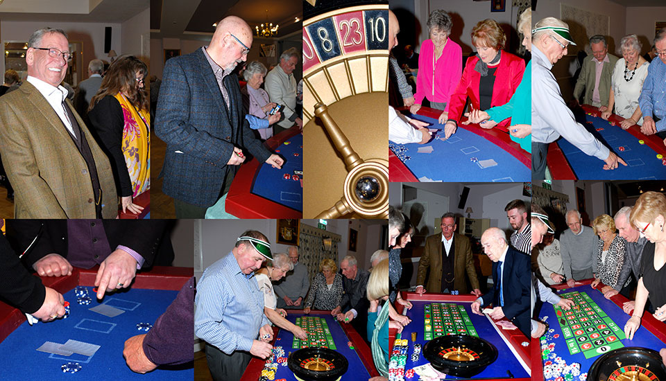 Highlights from the Casino night.