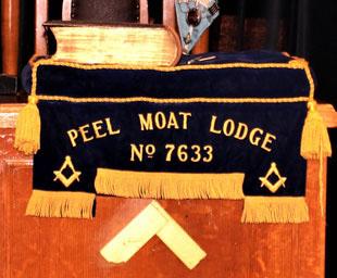 Peter is 'shepherded' in as master of Peel Moat