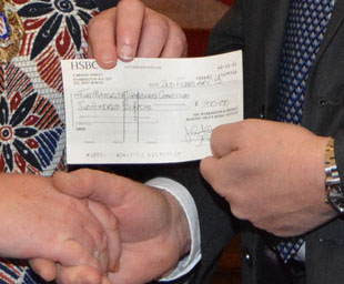 Masons generosity continues