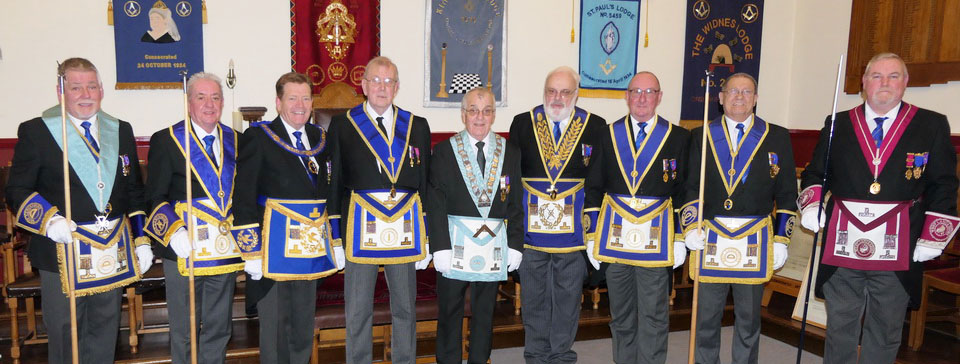 Pictured from left to right, are: Bob Williams, Steve Clarke, Kevin Poynton, Brian Tilley, John Horn, David Redhead, Neil Pedder, Frank Thomas and Gary Smith.