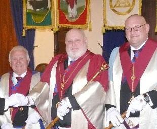 Standish Chapter installs its principals