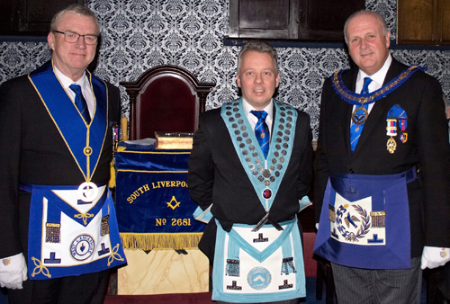 Pictured from left to right, are; Philip Preston, Ian Yoxall and David Winder.