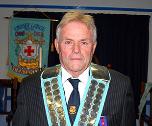 Tony visits Crosby Lodge's installation