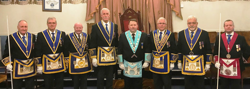 Pictured from left to right, are: Eric Bailey, John Selley, Eric Picton, John Karran, Gary Jones, Geoffrey Porter, Barry Dickinson and Geoff Whittle.
