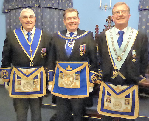 Pictured from left to right, are: Fred Hulse, Kevin Poynton and Michael Stephenson.