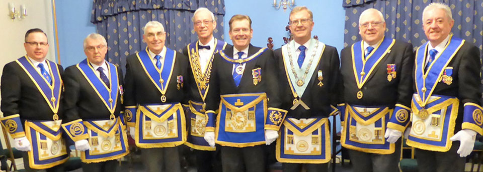 Pictured from left to right, are: Harry White, Mike Cunliffe, Fred Hulse, Keith Sanders, Kevin Poynton, Michael Stephenson, Dave Dutton and Stephen Clarke.