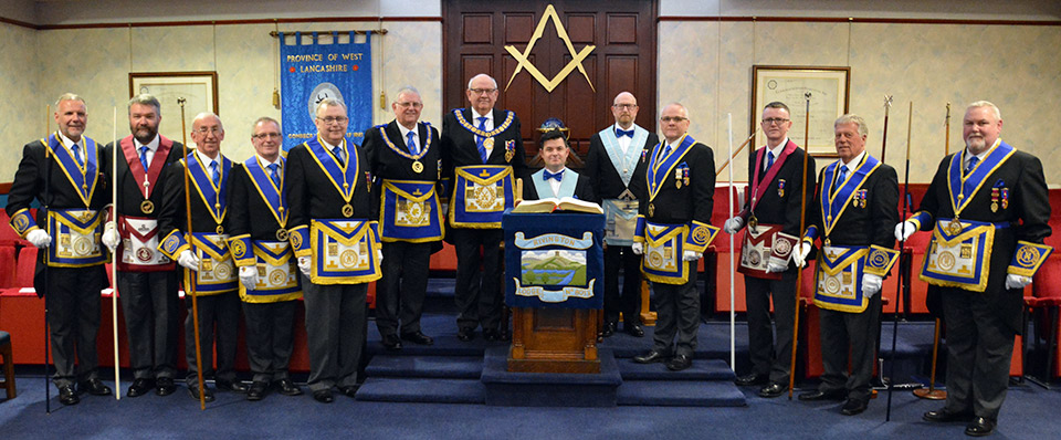 The Provincial team with new WM Graeme (seated centre).
