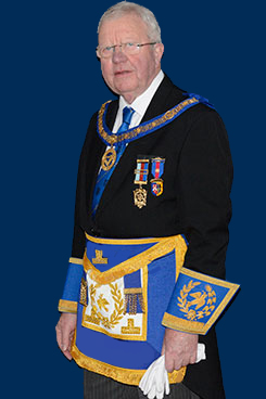 New Assistant Provincial Grand Master Keith Kemp.