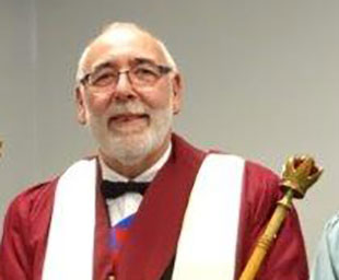 David installed as first principal