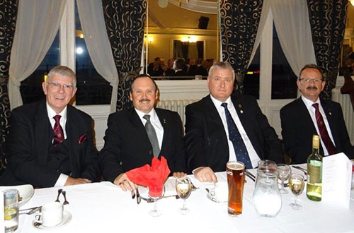 Pictured from left to right, are: Tony Harrison, David Wright, Mark Tomlinson and Paul Smedley.