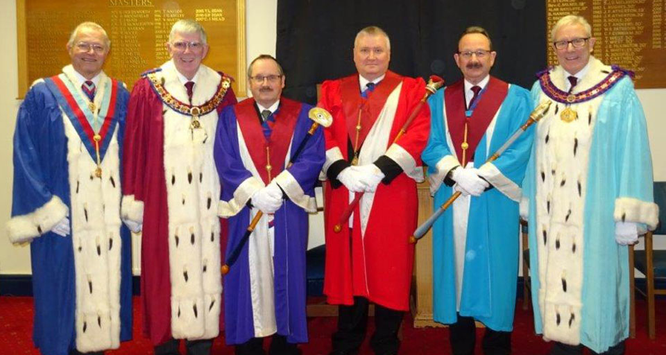 Centenary celebrations at Hesketh Chapter.