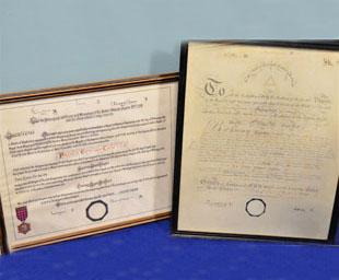 A princely proclamation at Prince Edward Chapter