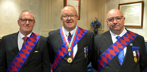Pictured from left to right, are: Dave Parker, Don Hesketh and David Bridge.