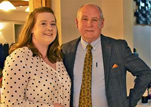 Gemma Gerrish (left) and Barrie Bray.
