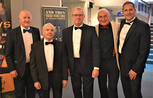 Pictured from left to right, are; Rowly Saunders, Alan Jones, Phil Preston, Richard Wilcock and Mark Little.