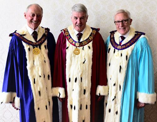 Pictured from left to right, are: Barry Jameson, Paul Renton and Ian Higham.