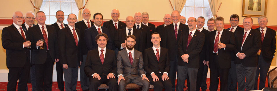 Pictured are new companions (seated) with some members and visitors.