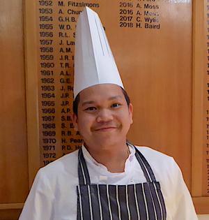 Chef Rendi Aitkin