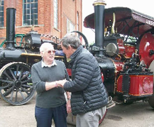 Tyldesley Lodge support Red Rose Steam Society