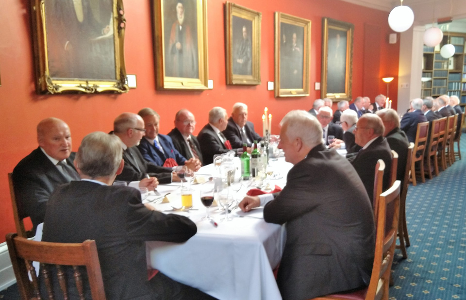 Dining in the Liverpool Medical Institute