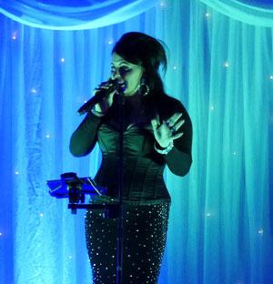 Entertainer Michelle Lawson.