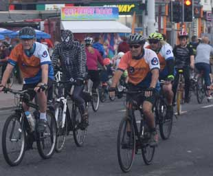 Over 60 Freemasons 'Ride the Lights'
