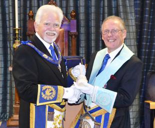 Ian Cuerden, a proud Masonic career