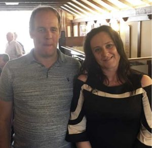 Martin and his wife Karen.