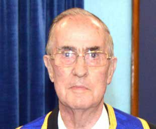 Arthur Hamer a Freemason for 50 years