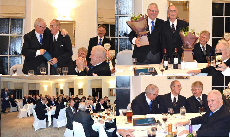 A collection of pictures from a most enjoyable festive board.