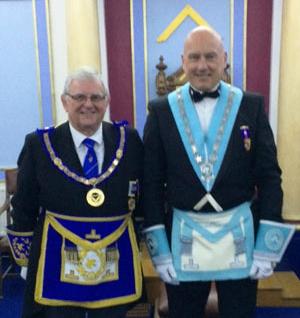 Stewart Seddon (left) and John Brailsford.