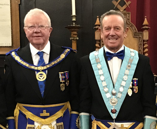 Torquil MacLeod is proclaimed master