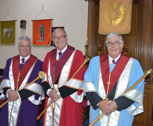 An excellent evening at Lancaster Castle Chapter