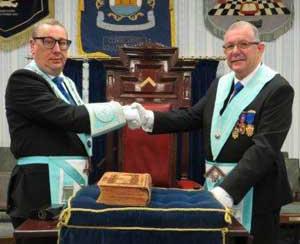 Scott Coxey (left) and Steve Willingham