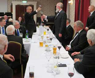 Robert installed at South Shore Lodge