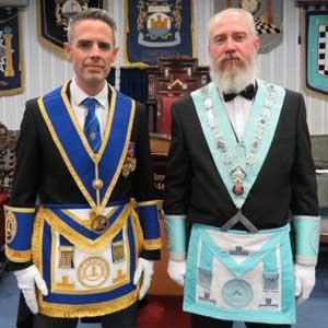 David Edwards (left) and Rob Bennett.