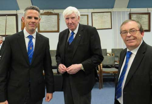 Pictured from left to right, are: David Edward, Glen Jackson and Mike Brown.