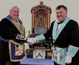 John becomes WM of Lathom Abbey