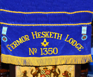 John installed as WM of Fermor Hesketh Lodge