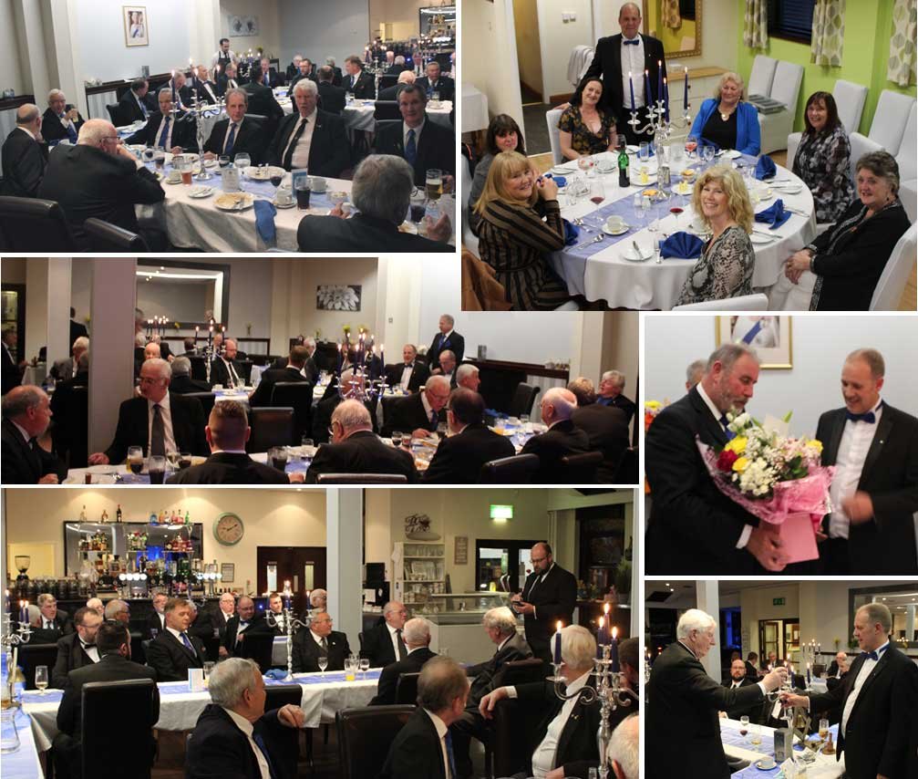 Pictures from the festive board.