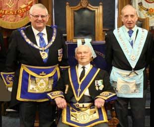 Syd celebrates 50 years in Freemasonry