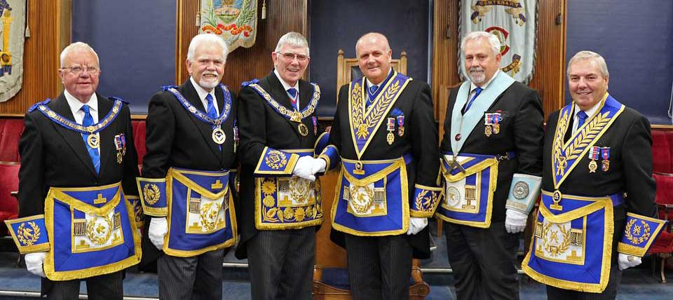 Pictured from left to right, are: Keith Kemp, David Randerson, Tony Harrison, David Winder, Ian Walton and Steve Bolton.