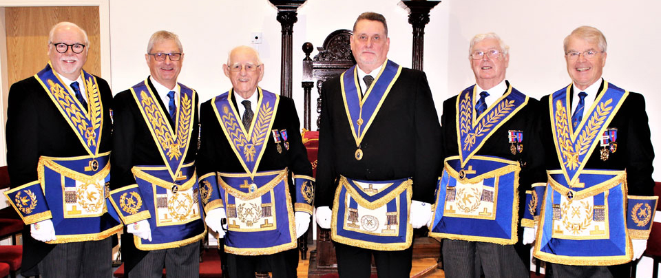 Pictured from left to right, are: Mike Adams, Gareth Jones, Tony Johnson, Stephen Campin, Brian Hayes and David Durling.