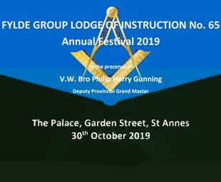 Lodge of Instruction Festival 2019